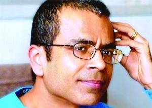 Akhil Sharma breaks work on Book